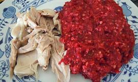 Červená pohanka s kuřetem