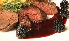 Hanger steak ( veverka) s ostružinovou omáčkou