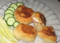 Listové taštičky se třemi druhy sýru