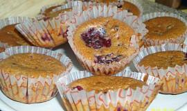 Ostružinové muffinky