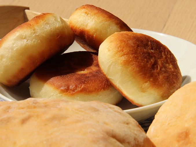Plzeňské rozpeky, rozpíčky nebo vdolky (na sucho pečené i smažené), Vdolky smažené v oleji