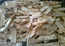 Sušenky s lískovými oříšky