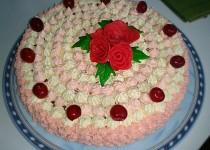 Vanilkový krém na dort