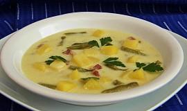 Vydatná fazolková polévka