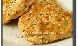 Zelné chlebové placky