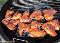 Grilovaná kuřecí křídla