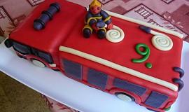 Hasické auto pro hasiče Davídka