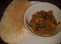 Indická kuchyně - Keema Do Pyaza (mleté maso na cibuli)