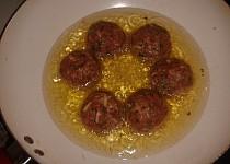 Indická kuchyně - Kofty s bramborem (zkušební verze receptu)