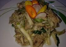 Kuřecí maso s celerem na medu