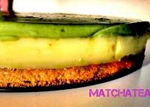 Matcha Tea kokosový dort