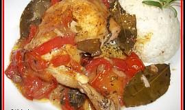 Myslivecké kuře po italsku