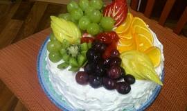 Ovocný dort - inspirace