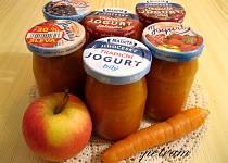Přesnídávka jablečno-mrkvovo-broskvová