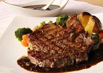 Steak s kávovou omáčkou ( Red - eye barbecue)