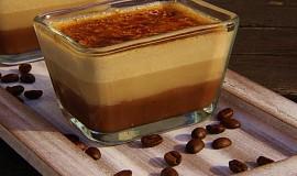 Čokoládovo - kávové créme brulée