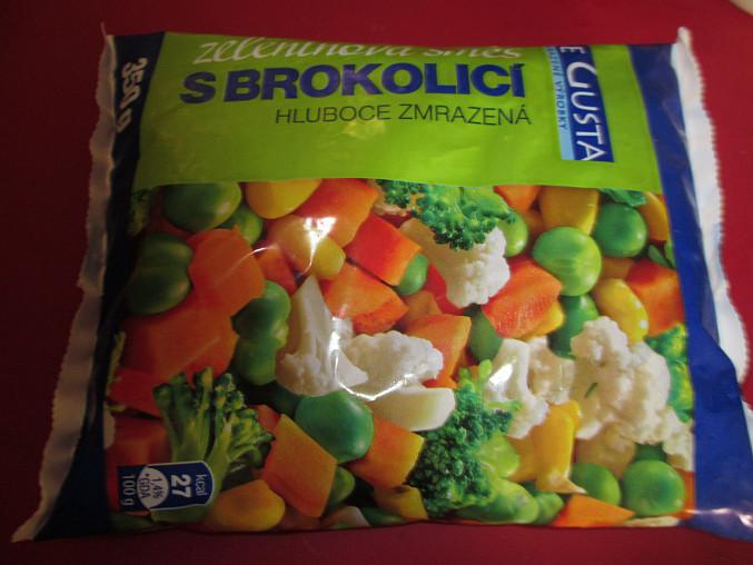 použitá zelenina...