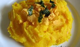 Dýňovo-bramborové pyré bez mléka (pro alergiky)