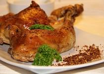 Grilované kuře bez grilu