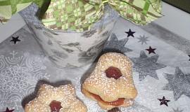 Hvězdičky a zvonečky s džemem