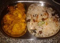 Indická kuchyně - Kuřecí molee videorecept se zvukem