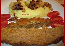 Kořeněné a  zapečené mleté maso