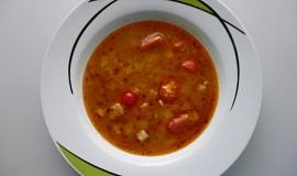 Krůtí polévka s rajčátky