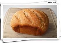 Lehký pšenično-žitný chlebík s kmínem (DlabemeZdrave)