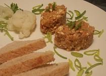 Pomazánka z pečené ryby, květáku a cottage