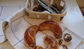 Bratislavské rohlíčky a vánoční záviny z jednoho těsta