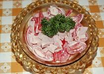 Rajčatový salát s majonézou