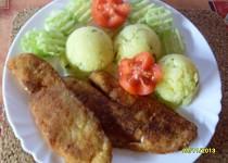 Rybí filety v citronové strouhance