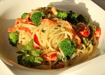 Špagety Primavera