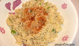 Variabilní rýže s vejcem