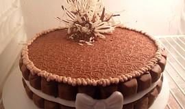 1. Čokoládový dortík plný čokolády