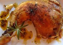 Bylinkovo-česnekové kuře