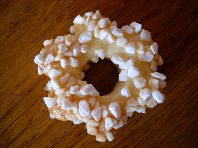 """Cukrové sušenky, Obalené v """"cukrářském cukru"""""""