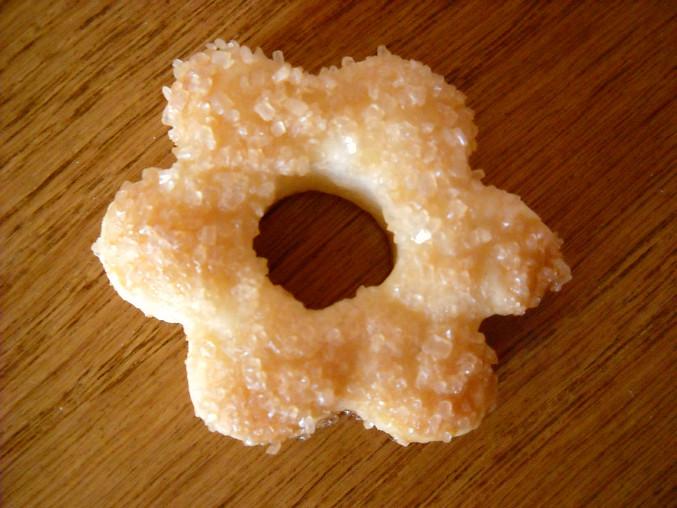 Cukrové sušenky, Obalené ve třtinovém cukru