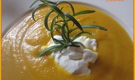 Krémová mrkvová polévka dobrá a jiná