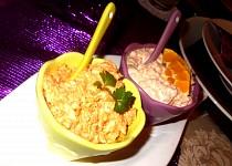 Pomazánkové duo - s lososem a s vařenou mrkví