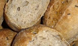 Pšenično-žitné dalamánky s prefermentem