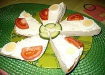 Tvarohová pomazánka s vajíčky II.