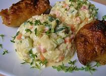 """"""" Bramborový """" salát bez brambor - z cukety"""