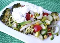 Fenyklový salát s cottage