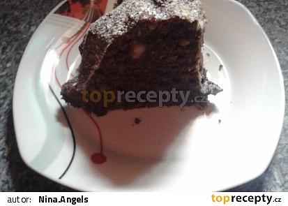 Hříšný trojčokoládový dortík