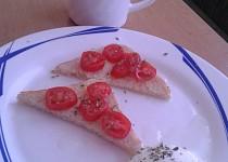 Italské topinky bruschette (bruskety)
