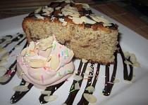 Jednoduchý banánový dortík