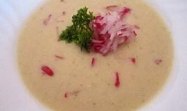 Krémová ředkvičková  polévka