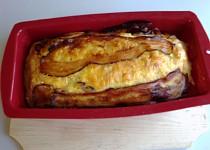 Kuřecí chlebíček s okurkou