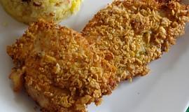Kuřecí řízky v kukuřično-parmezánovém obalu